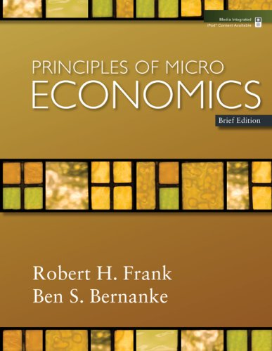 Principles of Microeconomics, Brief Edition   2009 9780077231835 Front Cover