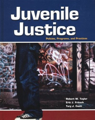 Juvenile Justice with Student Tutorial 1st 2002 9780078276835 Front Cover