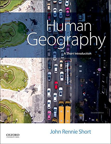 Human Geography: A Short Introduction  2017 9780190679835 Front Cover