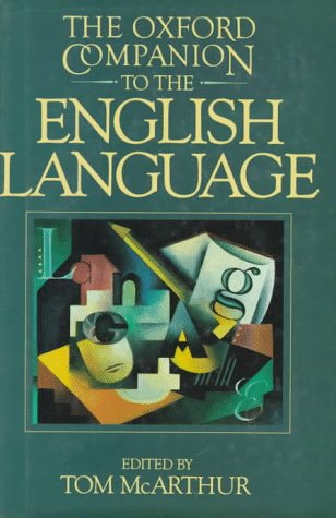 Oxford Companion to the English Language   1992 edition cover
