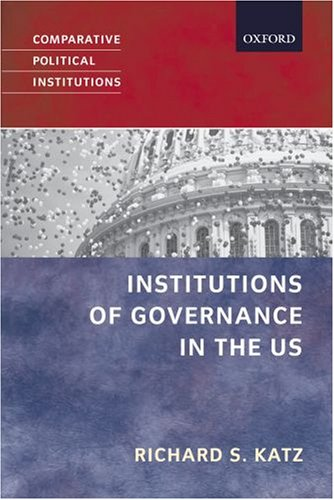 Political Institutions in the United States   2006 edition cover