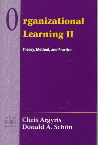 Oranizational Learning Theory, Method, and Practice 2nd 1996 edition cover
