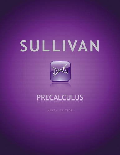 Precalculus  9th 2012 (Revised) 9780321716835 Front Cover
