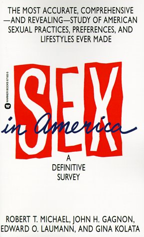 Sex in America  N/A edition cover