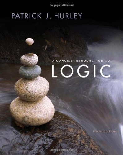 Concise Introduction to Logic W/Cd  10th 2008 edition cover