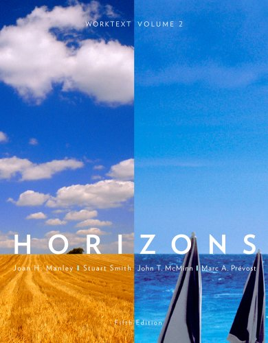 Horizons  5th 2012 edition cover