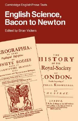 English Science, Bacon to Newton   1987 9780521316835 Front Cover