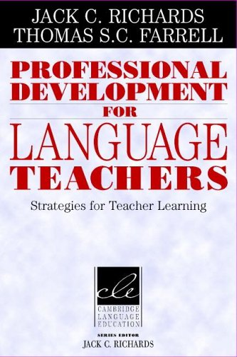 Professional Development for Language Teachers Strategies for Teacher Learning  2005 edition cover