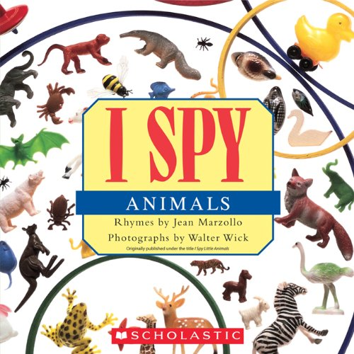 I Spy Animals  N/A 9780545415835 Front Cover