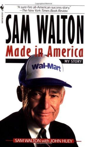 Sam Walton Made in America  1992 9780553562835 Front Cover