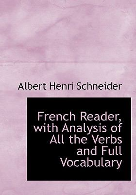 French Reader, With Analysis of All the Verbs and Full Vocabulary:   2008 edition cover