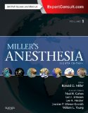 Miller's Anesthesia Expert Consult Online and Print 8th 2015 edition cover