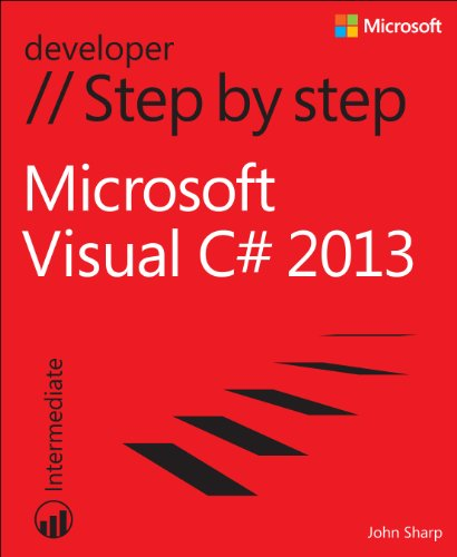 Microsoft Visual C# 2013 Step by Step   2014 edition cover