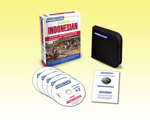 Indonesian, Basic: Learn to Speak and Understand Indonesian With Pimsleur Language Programs  2010 edition cover