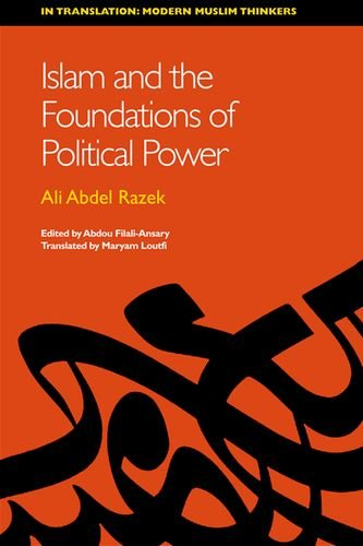 Islam and the Foundations of Political Power   2013 9780748689835 Front Cover