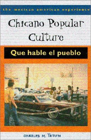 Chicano Popular Culture Que Hable el Pueblo  2001 edition cover