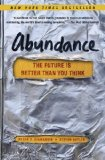 Abundance The Future Is Better Than You Think N/A edition cover
