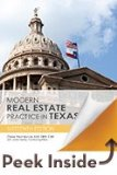 Modern Real Estate Practice in Texas:   2014 edition cover