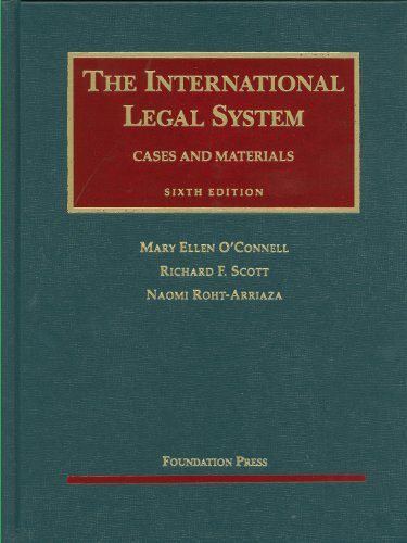 International Legal System Cases and Materials 6th 2010 (Revised) edition cover