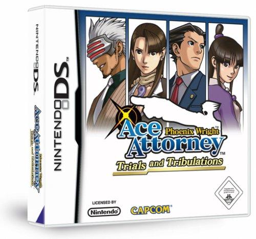 Phoenix Wright - Ace Attorney: Trials and Tribulations Nintendo DS artwork