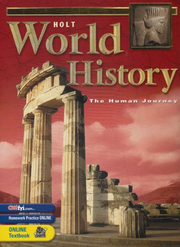 Holt World History The Human Journey 3rd 9780030646836 Front Cover