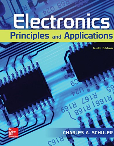 Electronics: Principles and Applications  2018 9780073373836 Front Cover