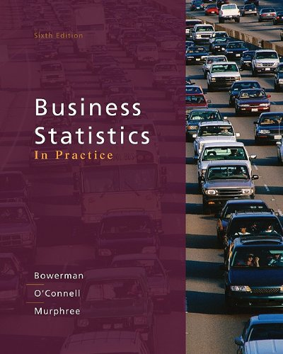 Business Statistics in Practice  6th 2011 edition cover