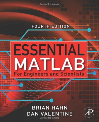 Essential Matlab for Engineers and Scientists  4th 2009 edition cover