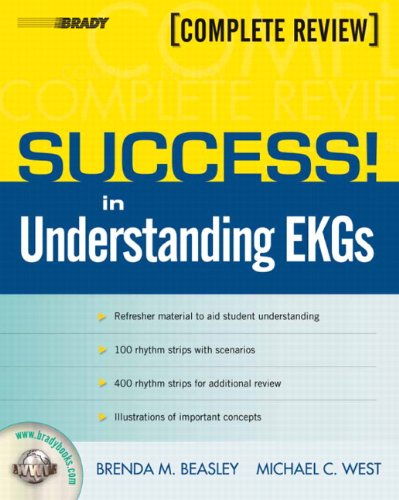 Success! in Understanding EKGs   2010 9780135152836 Front Cover