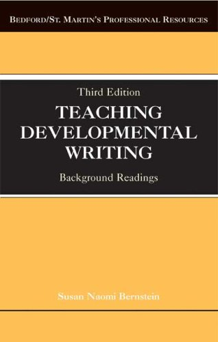 Teaching Developmental Writing Background Readings 3rd 2007 edition cover