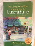 Compact Bedford Introduction to Literature 8e with 2009 MLA Update and LiterActive 8th 2010 9780312698836 Front Cover