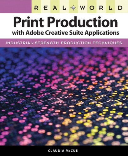 Print Production with Adobe Creative Suite Applications   2010 edition cover