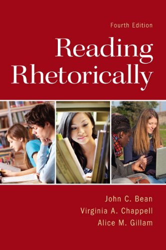 Reading Rhetorically  4th 2014 9780321917836 Front Cover