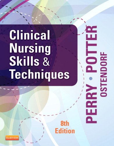Clinical Nursing Skills and Techniques  8th 2014 9780323083836 Front Cover