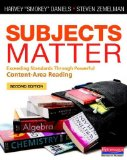 Subjects Matter, Second Edition Exceeding Standards Through Powerful Content-Area Reading 2nd 2014 9780325050836 Front Cover