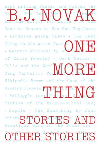 One More Thing Stories and Other Stories  2014 edition cover