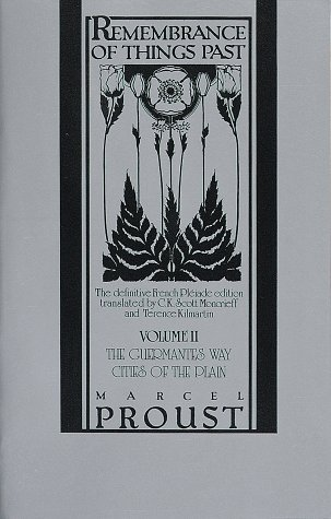 Remembrance of Things Past The Guermantes Way and Cities of the Plain N/A edition cover