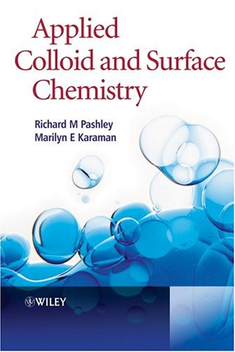 Applied Colloid and Surface Chemistry   2004 edition cover