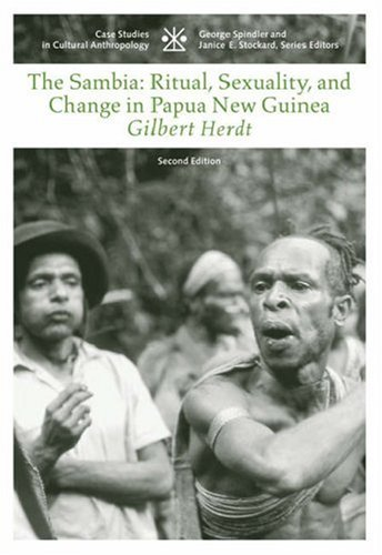 Sambia Ritual, Sexuality, and Change in Papua New Guinea 2nd 2006 (Revised) edition cover