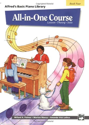 All-in-One Course, Level 4   1995 edition cover