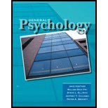 General Psychology:   2005 (Revised) 9780757505836 Front Cover