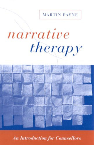 Narrative Therapy An Introduction for Counsellors  2000 9780761957836 Front Cover