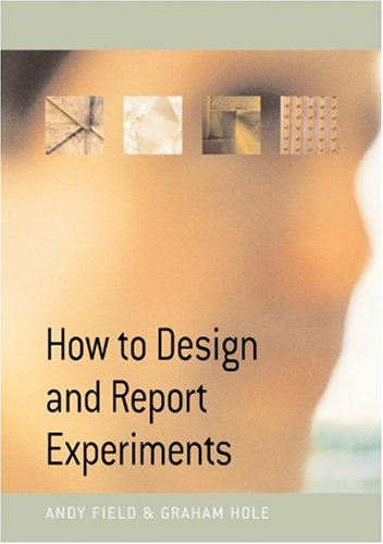 How to Design and Report Experiments   2003 edition cover