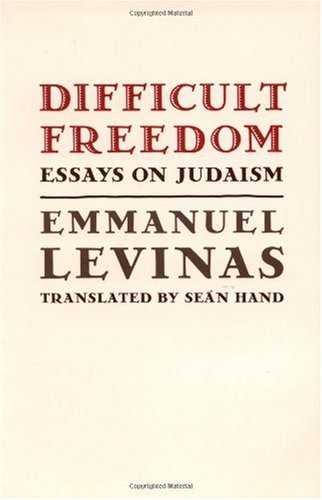Difficult Freedom Essays on Judaism  1990 edition cover