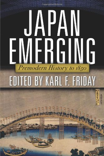 Japan Emerging Premodern History To 1850  2012 edition cover
