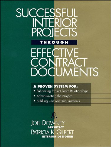 Successful Interior Projects Through Effective Contract Documents   1995 edition cover