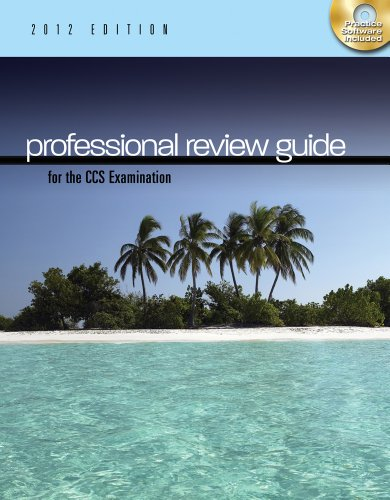Professional Review Guide for the CCS Examination 2012   2013 9781111643836 Front Cover