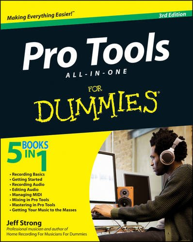 Pro Tools All-in-One for Dummies�  3rd 2012 9781118277836 Front Cover