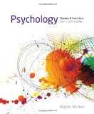 Psychology Themes and Variations, Briefer Version 9th 2014 edition cover