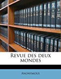 Revue des Deux Mondes  N/A edition cover